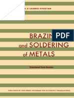 Brazing and Soldering of Metals by N.F.lashko