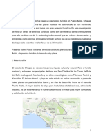 Diagnostico Turistico de Puerto Arista C