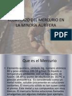 Reemplazo Del Mercurio en La Minería Aurífera
