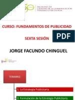 PUBLICIDAD SEXTA SESIÓN