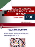 PENYULUHAN HIV Mayangan Hiv 5 Jun 2018