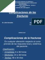 Complicaciones de Las Fracturas