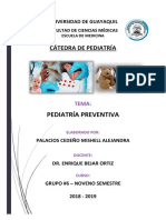 PEDIATRÍA PREVENTIVA