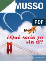 _Que Seria Yo Sin Ti_ - Guillaume Musso