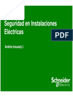 Seguridad en Instalaciones Electricas