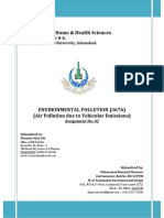 Solution-3676 Environmental Pollution Assignment 2