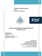 Solution-3678 Environmental Ethics in Built Environment Assgn 2