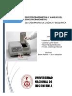 2do Informe Cinetica Bioquimica 2
