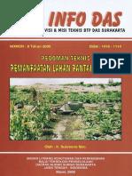 Info DAS No 8 Pedoman Teknis Pemanfaatan Lahan Pantai Berpasir
