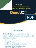 Clase 19 Diseño de Indicadores Claves de Desempeño Para La Industria de MVP