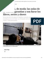 La Filosofía, De Moda_ Las Aulas de La UBA Se Agrandan y Son Furor Los Libros, Series y Shows