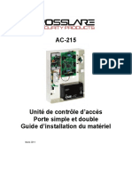 AC-215 Installation Manual - 060311 - French