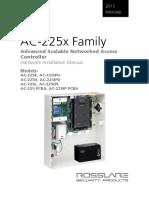 AC-225x Hardware Installation Manual v03 - 200213 - English