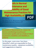 Pitfalls in Normal Maintenance and Adoptability of Good