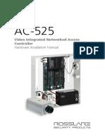 AC-525 Hardware Installation Manual v02 - 070514 English