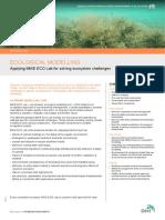 Ecological Modelling - DHI Solution_V1.3