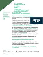 Bando Borse Di Soggiorno (13-18 Marzo 2018)