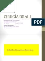 CIRUGÍA ORAL I.  1.pptx