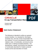 G-Log Transportation Mgmt v5.7