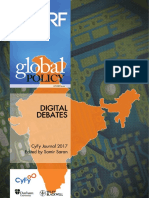 Digital Debates, CyFy Journal 2017 - Samir Saran