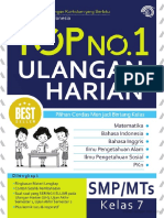 Top No 1 Ulangan Harian SMPMTS Kelas 7