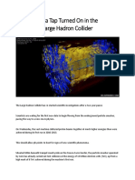 Data Tap in Large Hadron Collider