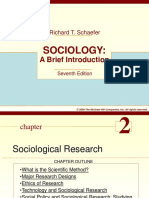 Ch 2- Sociological Research