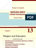 Ch 13- Religion and Education
