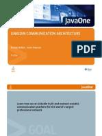 Linkedin Javaone