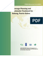 Sewerage Planning and Wastewater Treatment for Sabang, Puerto Galera