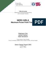 MPPT Final Report