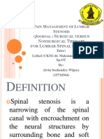 Lumbar Stenosis Fix