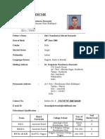 Sandip Namdeorao Dawande Resume