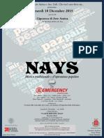 Nays per Emergency
