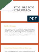 Conceptos Básicos de Hidráulica PDF