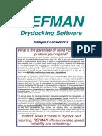 Refman Cost Samples