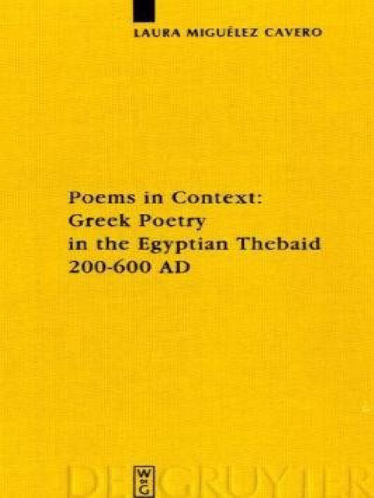 R303244der Weihnachten.Laura Miguelez Cavero Poems In Context Greek Po B Ok Org