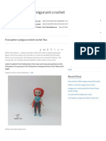 Free Pattern Amigurumi Doll Crochet Tess - Katkarmela_ Toy Amigurumi Crochet