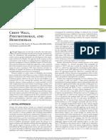 Chest Wall Pneumothorax and Hemothorax (1)