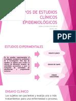 Expo Investigacion ESTUDIOS CLINICOS EPIDEMIOLÓGICOS