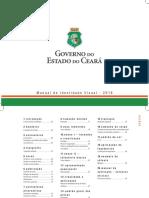 MANUAL DE IDENTIDADE VISUAL - CAMILO SANTANA - GOVERNO DO ESTADO DO CEARÁ