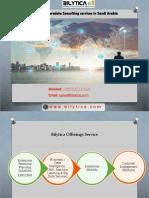 Bilytica Teradata Consulting Services in Saudi Arabia
