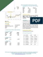 Market Update 6th June 2018