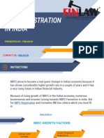 NBFC Registration in India