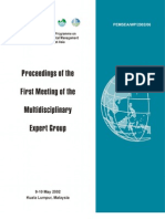 Proceedings of the First Meeting of the Multidisciplinary Expert Group