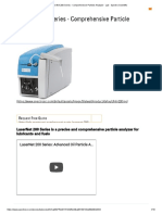 LaserNet 200 Series - Comprehensive Particle Analyzer - Lab - Spectro Scientific