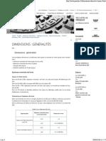 Pam Dimensions (Generalites)