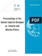 Proceedings of the Senior Experts Dialogue on Coastal and Marine Policy