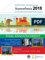 Announcement Indoanesthesia