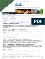 Tamil Nadu Temples Tour Package